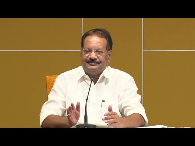 Sri Nakka Anand Babu Addressing the Media About High Court Comments on AP Law & Order Issue - Live.