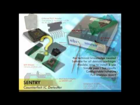 Counterfeit Fake IC Detecting using ABI Sentry from Saelig