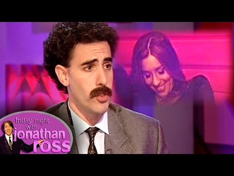 """Sacha 'Borat' Baron Cohen Asks Melanie """"What Her Price Is"""" 