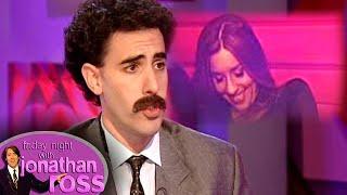 Sacha 'Borat' Baron Cohen Asks Melanie \