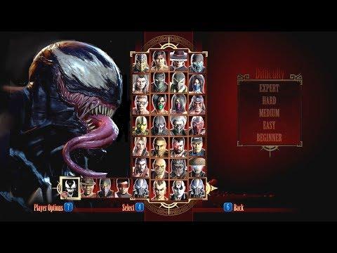 Mortal Kombat VENOM DLC MK Costume Skin PC Mod MK9 Komplete Edition