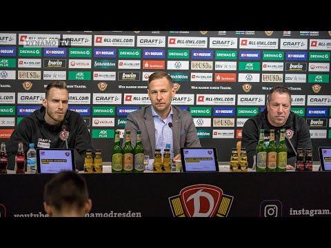 20. Spieltag | FCH - SGD | Pressekonferenz vor dem Spiel