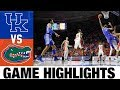 #6 Kentucky vs Florida Highlights 2020 College Basketball
