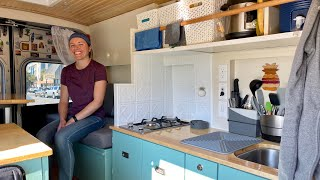 VAN LIFE | GENIUS DIY Homemade Campervan  Ford Transit Conversion