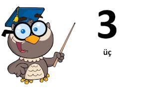 言語を習得する # アゼリー人 # 0から9まで
