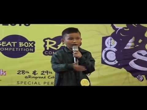 Aksi Rapper Muda Medan ini Memukau Pengunjung Kurnia Food Sensation