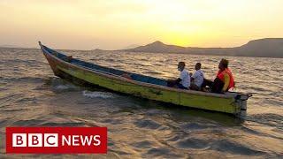 Fisherman swap petrol motors for electric engines - BBC News