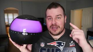 Wireless Color Changing 360 Degree Speaker With Disco Ball | iHome IBT175 REVIEW