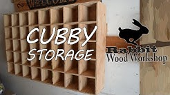 Cubby storage Easy build.
