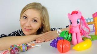Видео для девочек. У Пинки Пай от сладостей болят зубки.