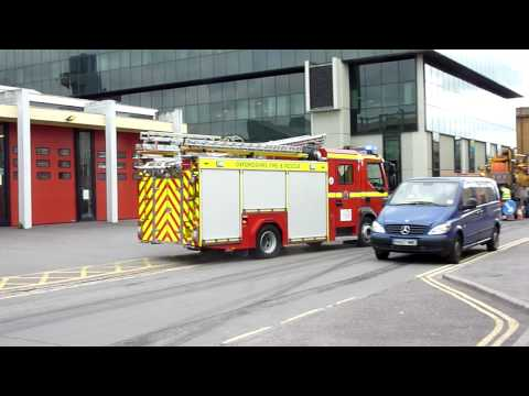 Volvo ???- Oxford Fire and Rescue Service- Blue Light Turnout