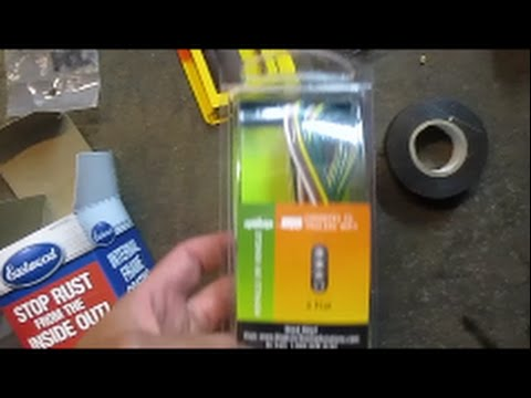 hqdefault installing a trailer wiring harness on a 2002 chevy astro youtube