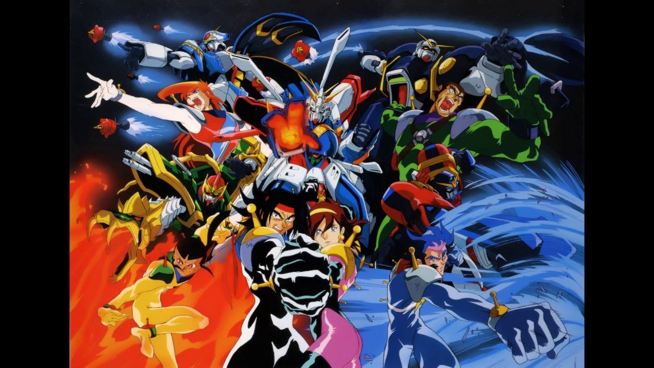 Image result for g-fighter gundam ready go