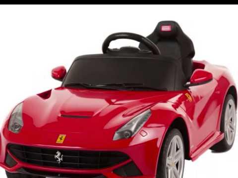 Ferrari F12 Kids 6v Electric Ride On Toy Car   YouTube