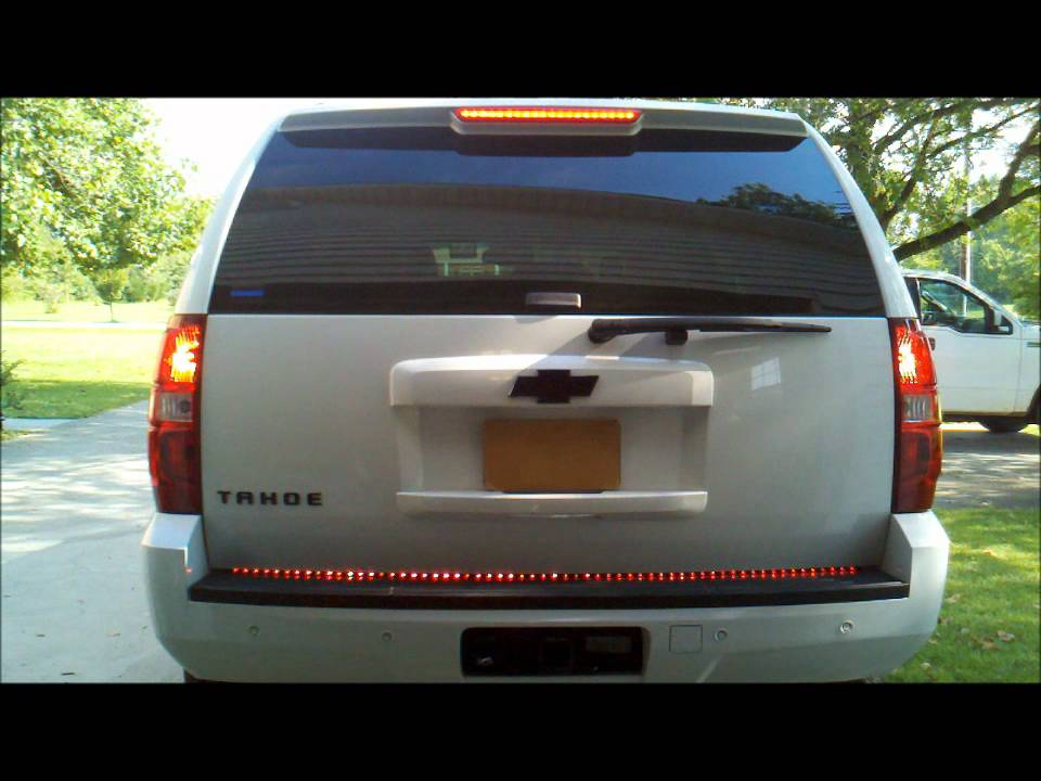 2007 tahoe with anzo 60 rear light bar youtube mozeypictures Choice Image