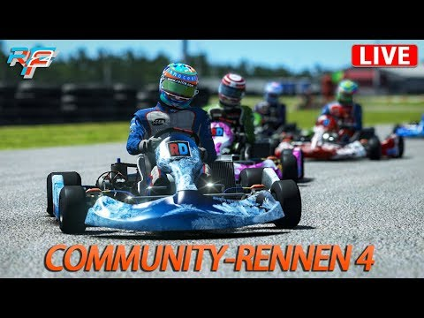 Community-Rennen 4 | Rfactor 2 [DX11] [GER] 125 ccm Karts @ Palm Beach & Mountain Peak Oval