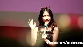 Hòa Minzy đáp trả về việc hay quên lời khi hát ở buổi Offline Sinh Nhật