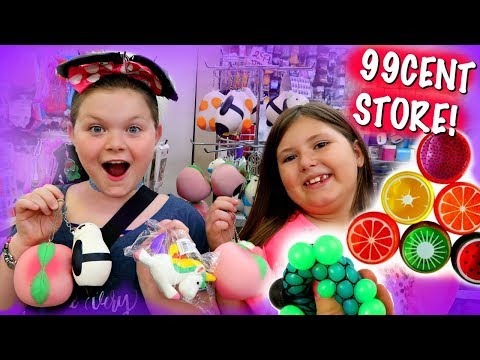 SQUISHIES & SLIME AT 99CENT STORE!!!~SLOW RISING SQUISHIES OMG!😱😂