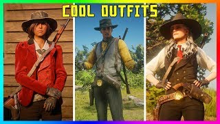 Red Dead Online - COOL OUTFITS! Doc Holliday, The Joker, Agent 47 & MORE! (RDR2 BEST OUTFITS)