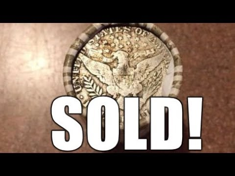 This Silver Ender Sold On Ebay For Big Money! Coin Roll Hunting!