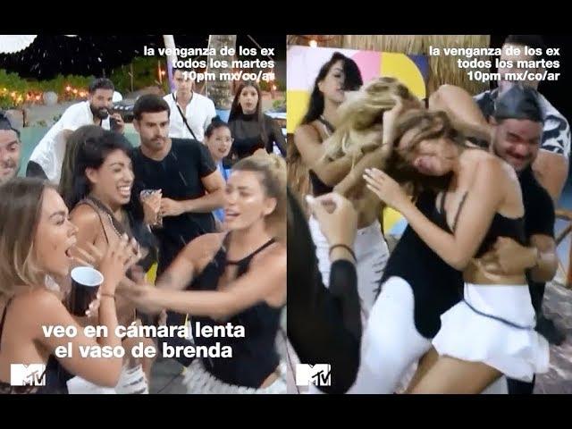 PELEA BRENDA VS MONTSE - LA VENGANZA DE LOS EX CAPITULO 10 HD