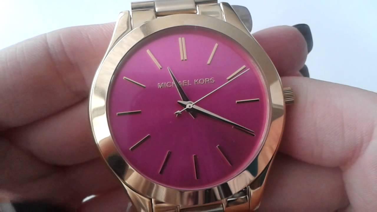 82fcf3d535 dámské hodinky MICHAEL KORS MK3264 - YouTube