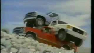 1987 Ford F-250 commercial/1988 Chevrolet C/K commercial