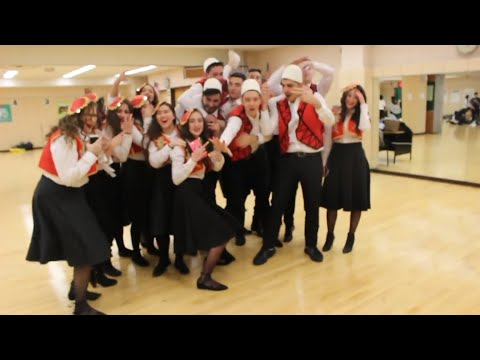 I Performed in New Dorp High Schools Albanian Dance