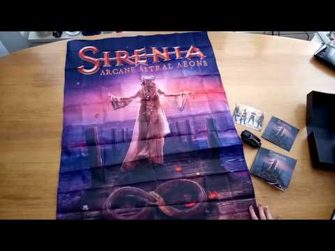 SIRENIA - Arcane Astral Aeons (Unboxing) | Napalm Records