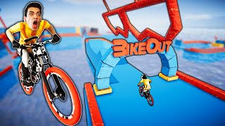 THE HARDEST BIKEOUT MAP EVER! (Descenders)