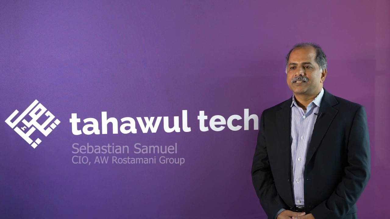 AW Rostamani CIO Sebastian Samuel: 'Think outside the box