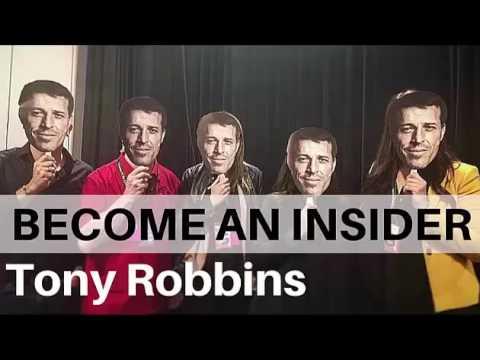 Tony Robbins   Become The Insider   Tony Robbins Business Mastery