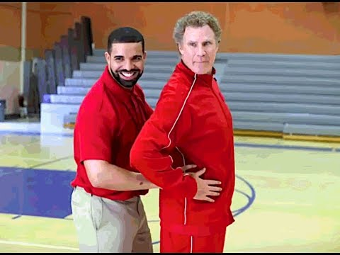 WILL FERRELL AND DRAKE GIVING BASKETBALL LESSONS??? MUST WATCH!!!!