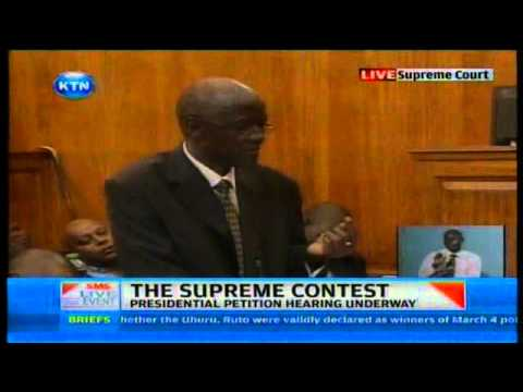 Supreme Court contest trial begins CORD petition by George Oraro