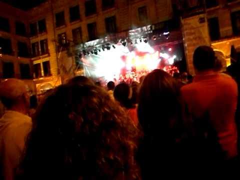 Himno de Cantabria, Luetiga, Plaza Porticada de Santander 28-07-2011
