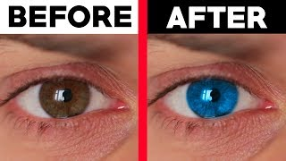 This trick will make your eyes color change.. (insane)
