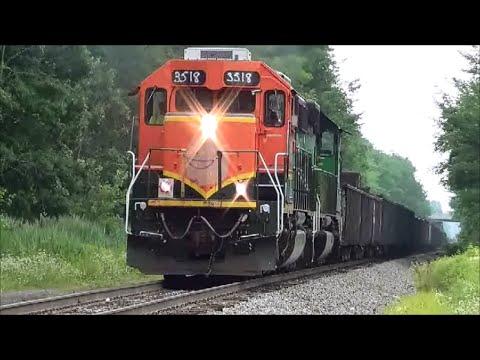 Download 3 trains on the CF&E Railroad Norfolk Southern CSX CF&E LIVW