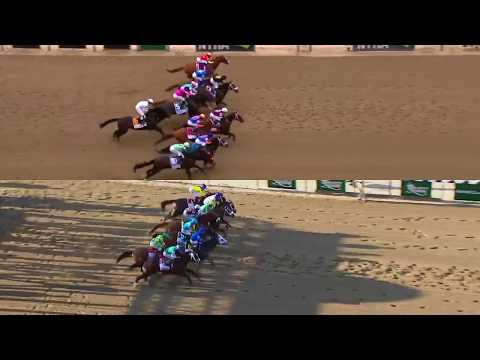 Justify And American Pharoah Belmont Stakes Wins