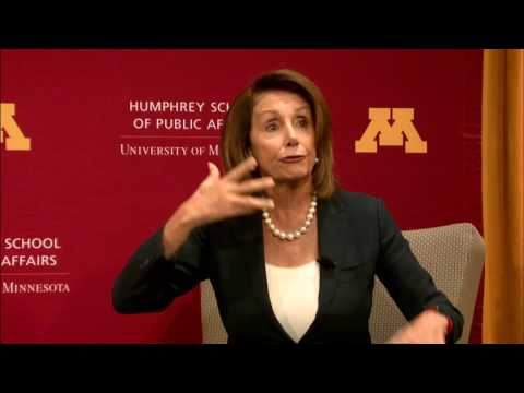 A Conversation with Democratic Leader Nancy Pelosi