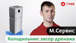 М.Сервис: Холодильник. Засор дренажа.(, 2013-10-23T12:55:44.000Z)