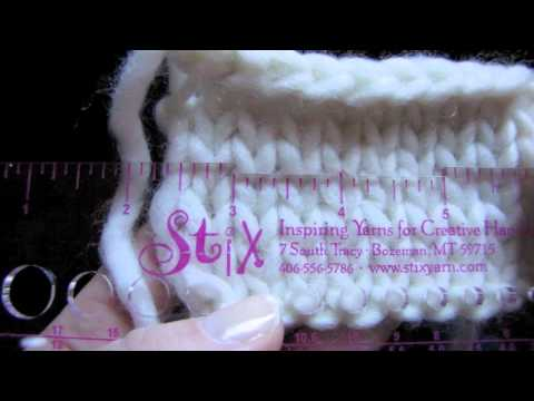 Gauge – How to Check Your Gauge on Flat Knitting