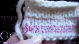 KNITFreedom - How To Measure or Check Your Gauge in Knitting