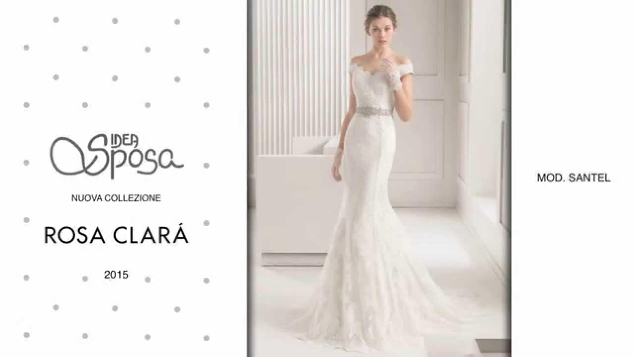 56dd7cbd80d3 Idea Sposa - Nuova collezione Rosa Clarà 2015 - YouTube