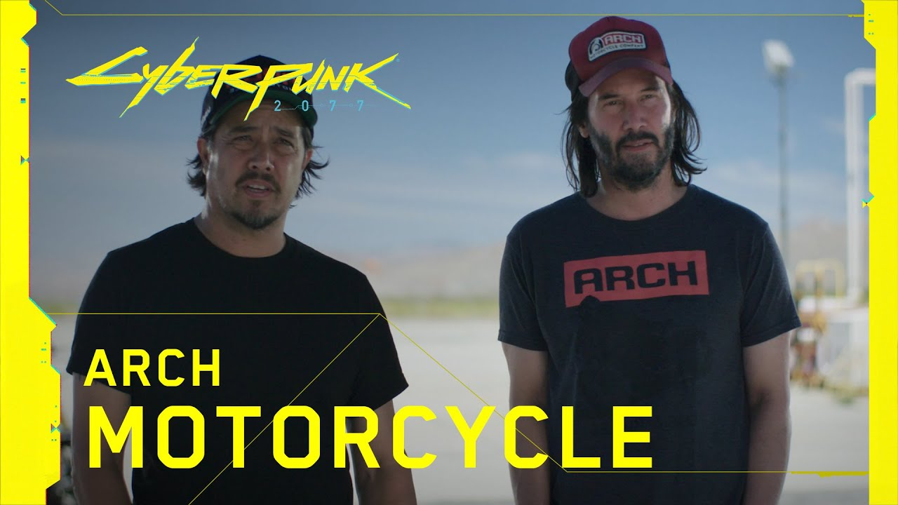 Cyberpunk 2077 — Behind the Scenes: Arch Motorcycle with Keanu Reeves and Gard Hollinger