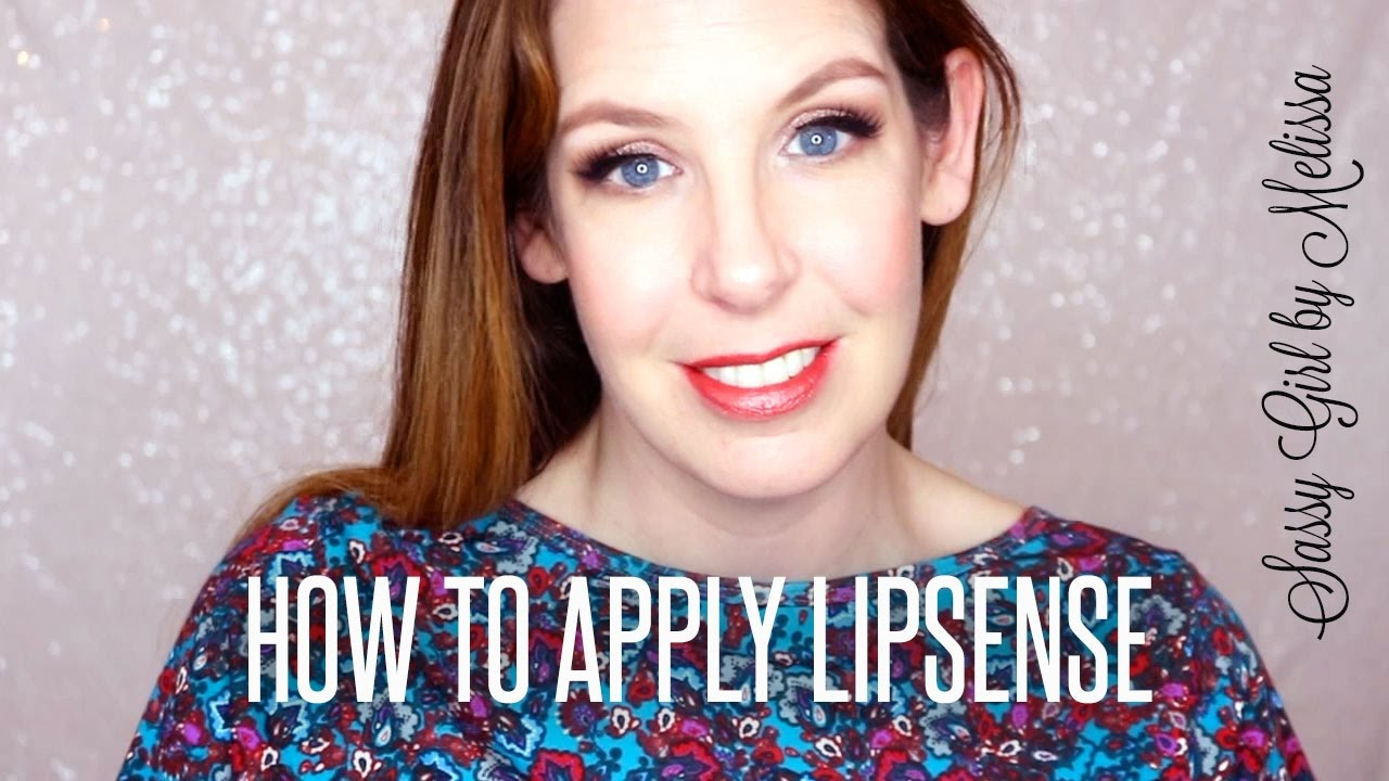 How To Apply Lipsense  Tips For Dark Colors