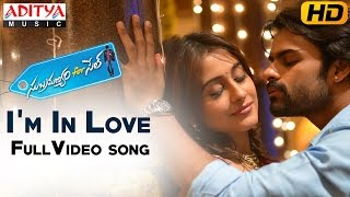 I'm In Love Full Video Song || Subramanyam For Sale Video Songs