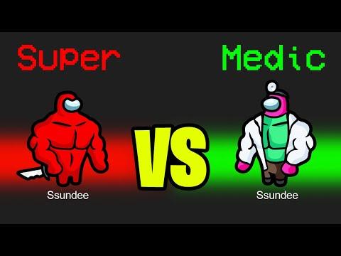 SUPER MEDIC vs SUPER IMPOSTER in Among Us