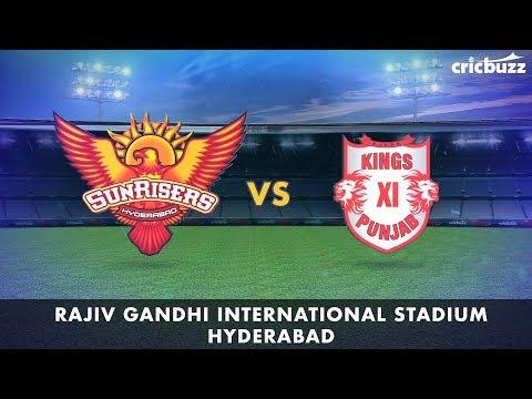 Cricbuzz LIVE: SRH vs KXIP Pre-match show