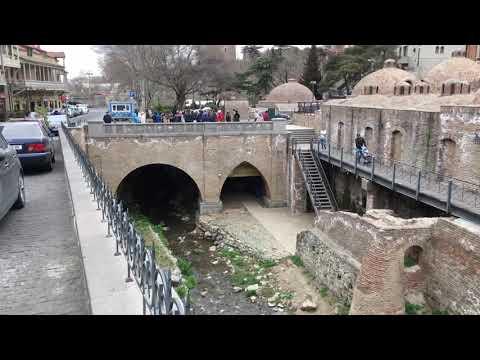 Тбилиси. Авлабар, Серные бани, Ботанический сад.