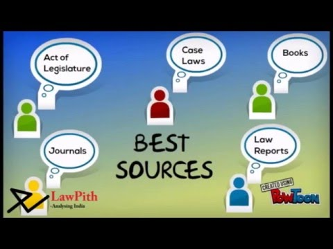 Sources of National Law in Moot Courts